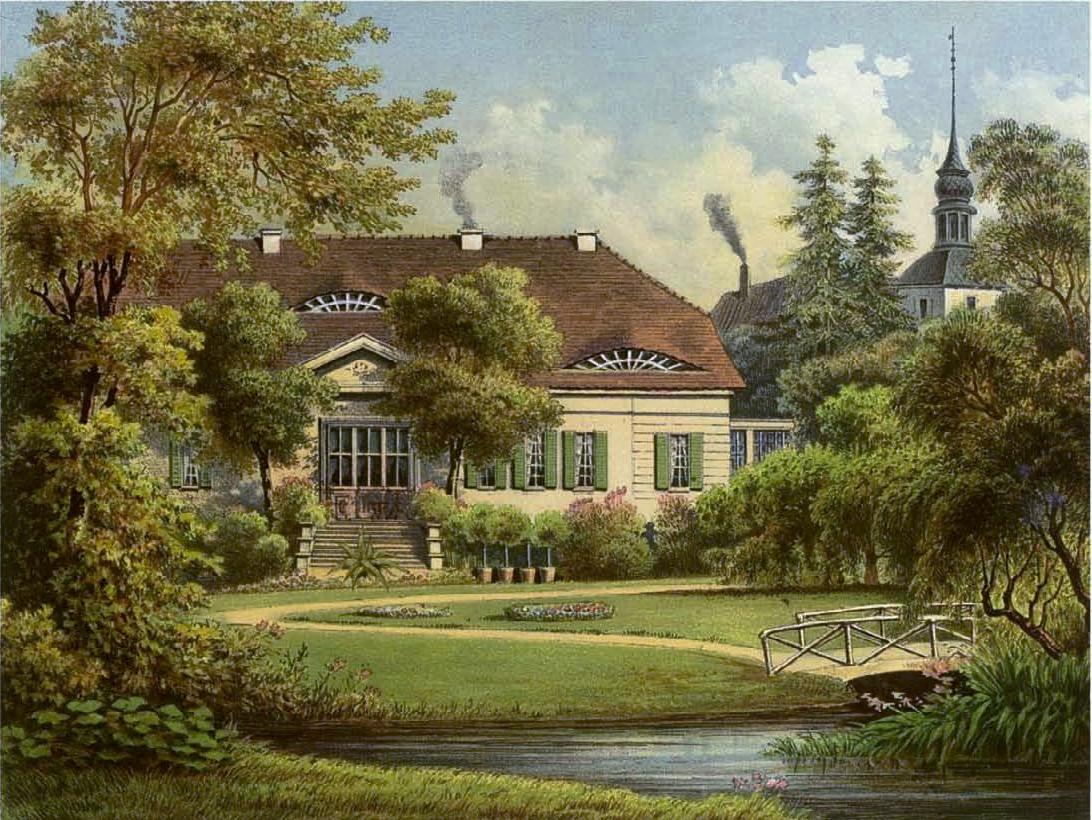 Schloss_Ribbeck_1820-Sammlung_Duncker